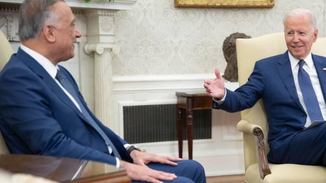 Twee raketten afgevuurd op Amerikaanse ambassade in Irak na akkoord Biden met premier Irak