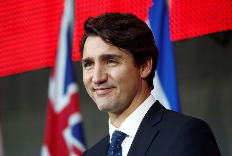 De onthullingen zijn precair voor de Canadese premier Justin Trudeau, voor wie belastingontwijking en economische ongelijkheid kernthema's zijn. Beeld REUTERS