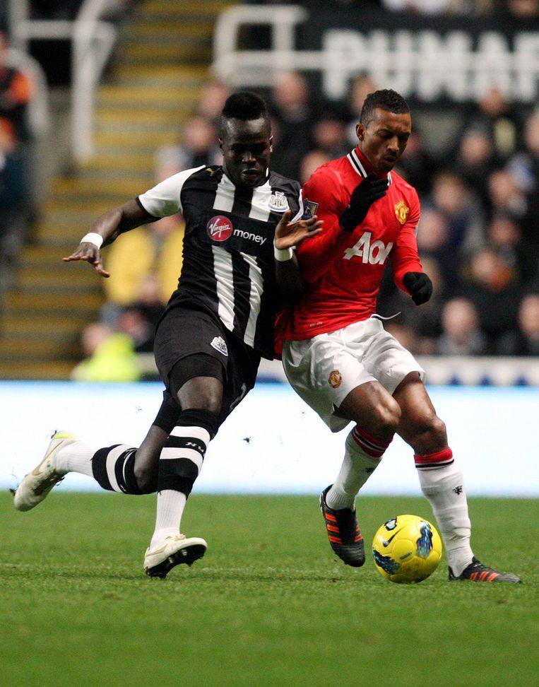 Tioté (ex-Anderlecht) heerste op het middenveld. Beeld AP