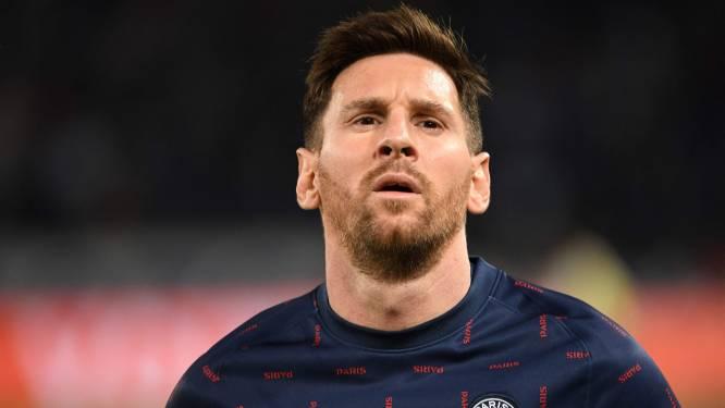 Le PSG privé de Lionel Messi contre Montpellier