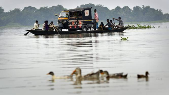 Al zeker 700 doden bij overstromingen in zuiden van Azië