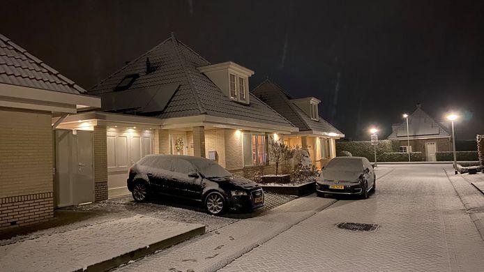 'Wonderlijke sfeer van sneeuw' in De Lutte.
