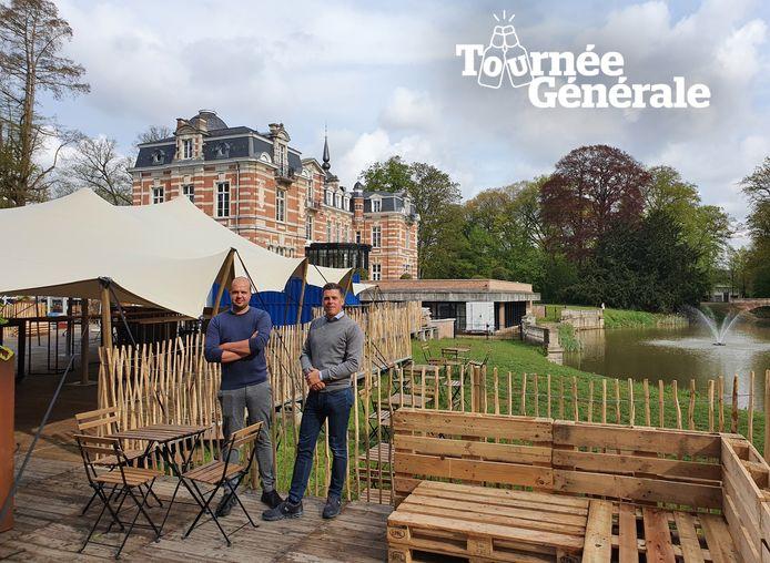Dieter Van Daele en Tom Vercammen van Chateau Paulette.