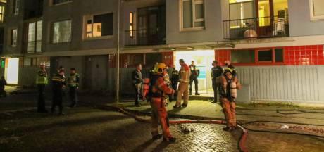 Explosie en brand in Capelse portiekflat