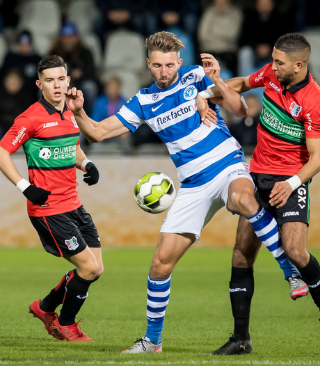 NEC is De Graafschap de baas in Gelderse topper