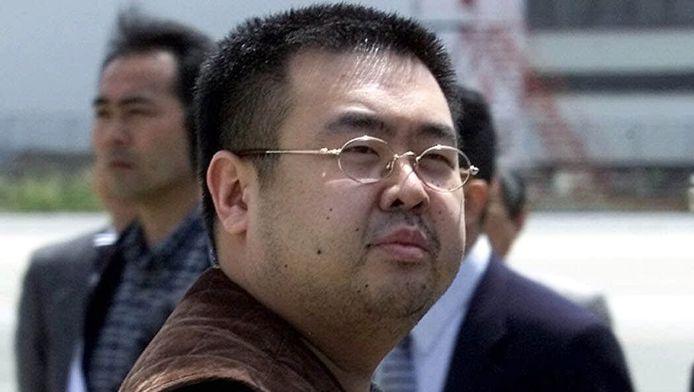 Archieffoto van Kim Jong-nam, de halfbroer van de Noord-Koreaanse leider, Kim Jong-un.