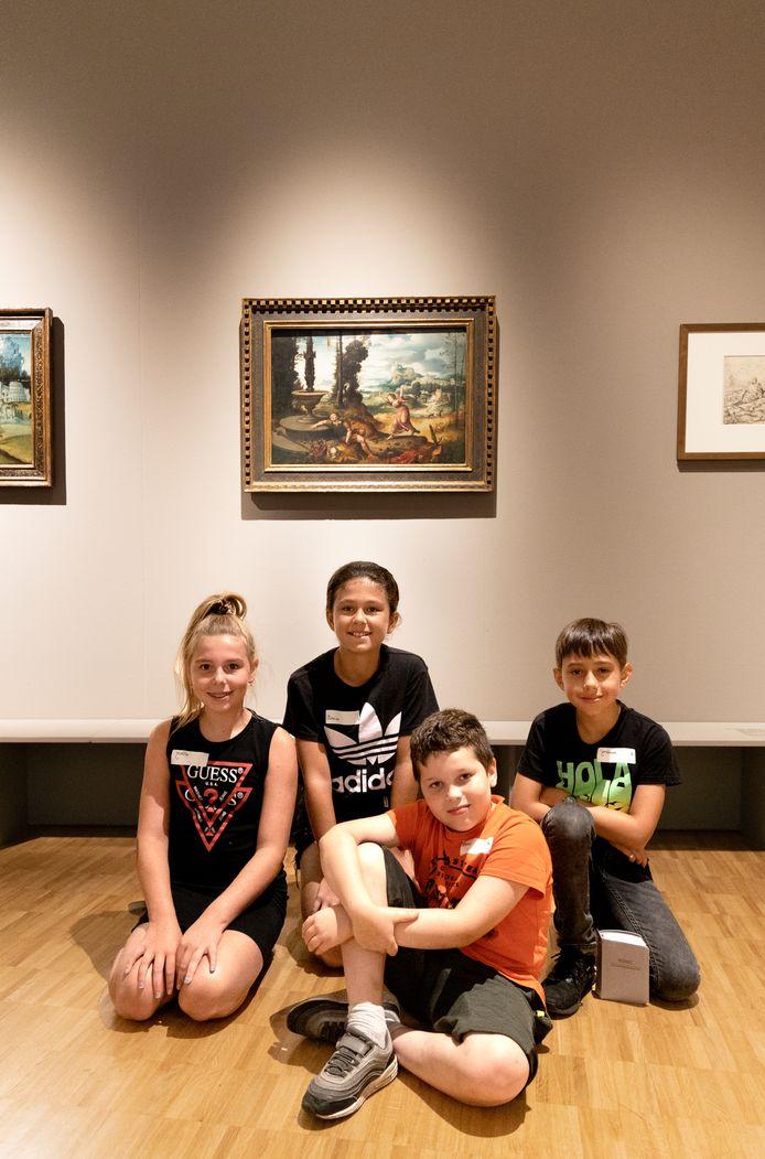 Voorschools kunstprogramma bij de tentoonstelling van Lucas Gassel in de Kunsthal, het andere onderdeel van Museum Helmond