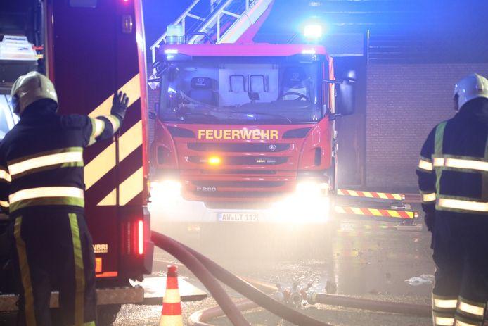 Grote brand in Nistelrode.