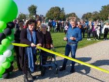 'Boerencamperpark' bij Borculo meteen groen, speciaal voor elektrische campers