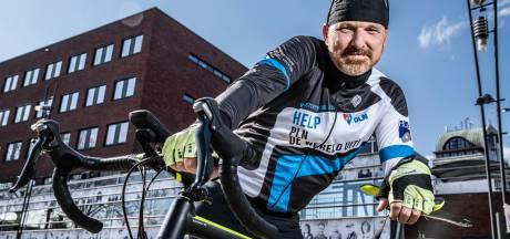 Van rollator naar racefiets: Daan kon bijna niet meer lopen, nu gaat hij een 'Elfstedentocht' rond Deventer fietsen