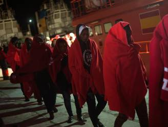 Bijna 190 migranten gered voor kust van Zuid-Spanje
