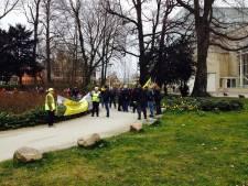 Rustig verloop azc-demonstratie in Utrecht