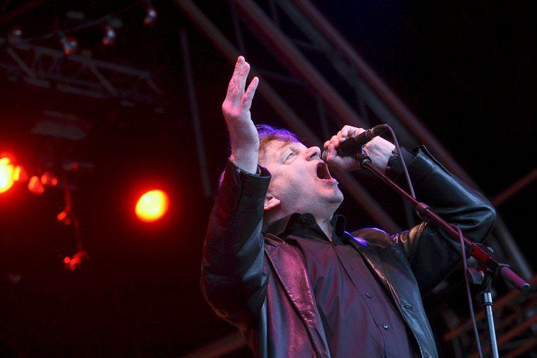 Mark E Smith, frontman van The Fall, had een immense invloed op de Britse muziekscène. Beeld EPA