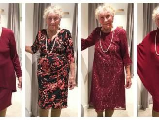 Sylvia (93) stapt in het huwelijksbootje en vroeg internet om hulp voor het kiezen van haar trouwjurk