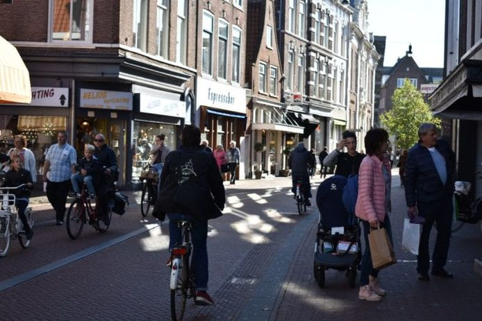 De Kruisstraat in Haarlem