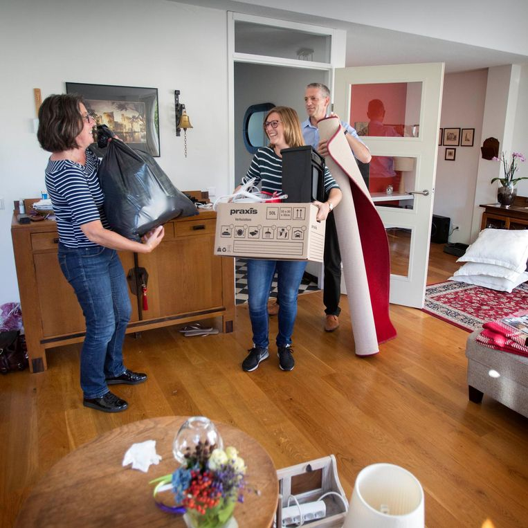Miriam Zagers woont weer thuis Beeld Werry Crone