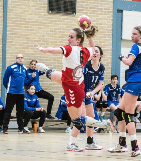 Handbal: gelijkspel DSVD, nederlaag voor Borhave en De Tukkers