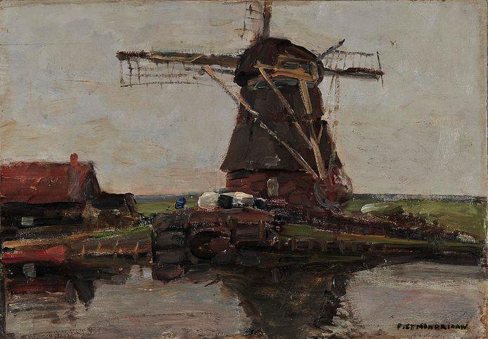 'Molen' door Piet Mondriaan