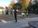 Outdoor fitness park brengt Creil in beweging