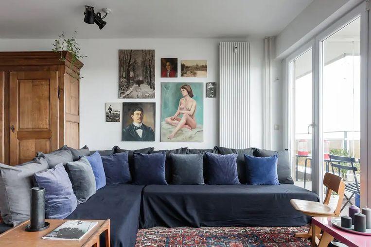 Logeren in een lofty appartement met panoramisch zicht over Brussel doe je bij Bxl Panorama.  Beeld RV