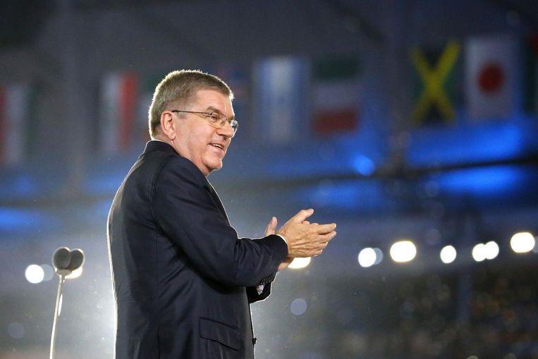 IOC-voorzitter Thomas Bach. Beeld anp