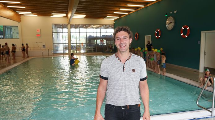 Centrummanager Erik Somers is blij dat De Meerminnen opnieuw alle baden mag openen voor de bezoekers.