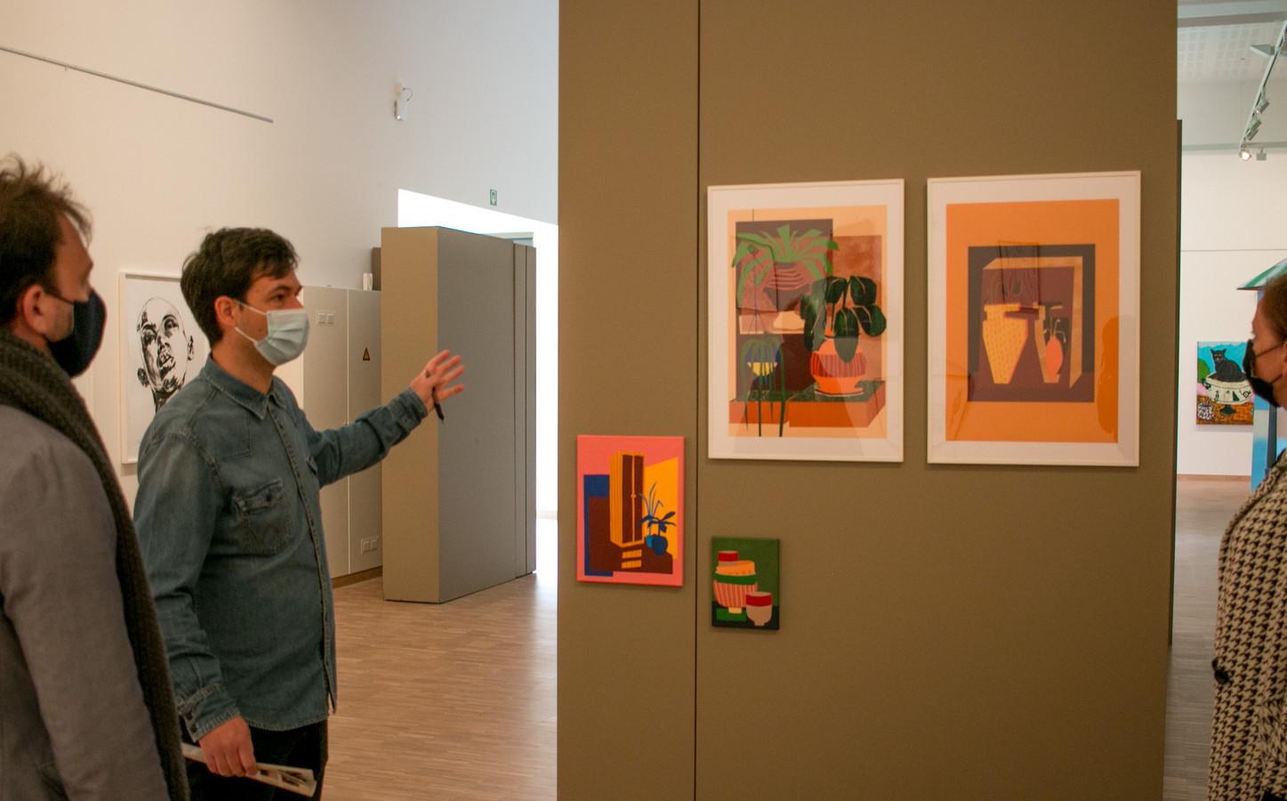 """Curator Bart Warnier van NAFT: """"Dit is als het ware de hoogmis van het parcours dat we met alle straatkunst in Sint-Niklaas de voorbije jaren afgelegd hebben."""""""