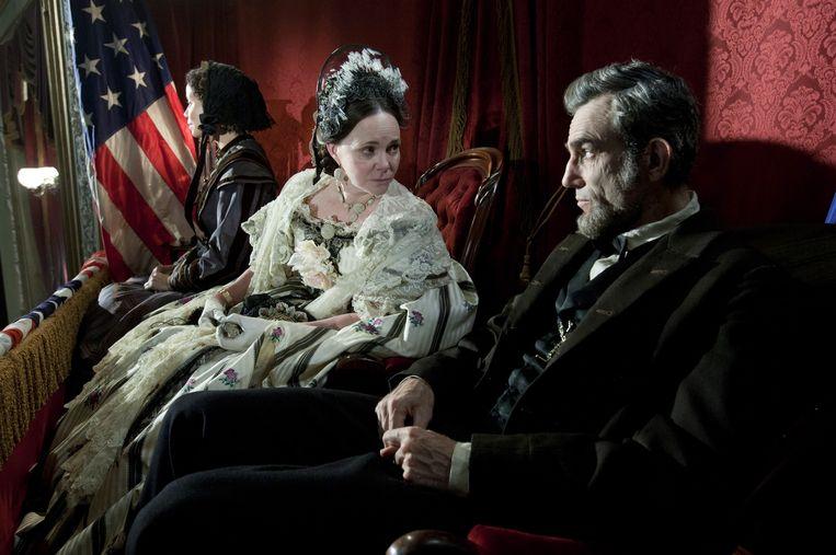 Sally Field en Daniel Day-Lewis in 'Lincoln'