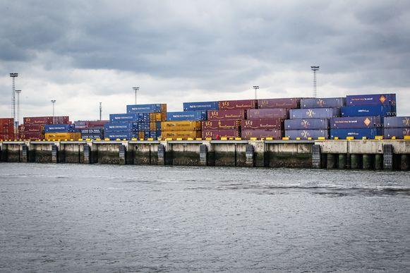 De man werd opgepakt in de haven van Zeebrugge.