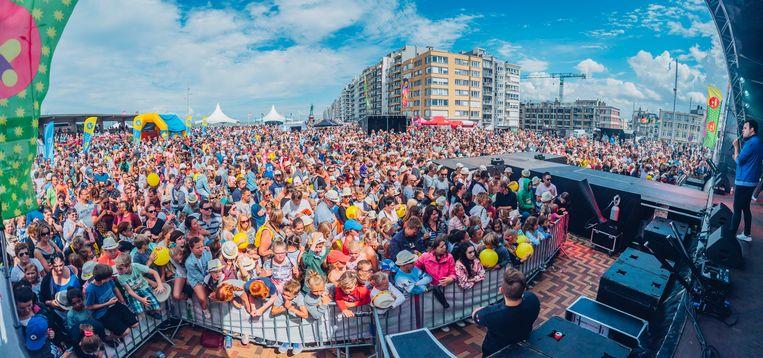 Massa's volk op een vorige editie in Wenduine