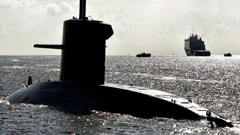 De onderzeeboot Hr.Ms. Bruinvis van de Nederlandse Marine. Beeld anp