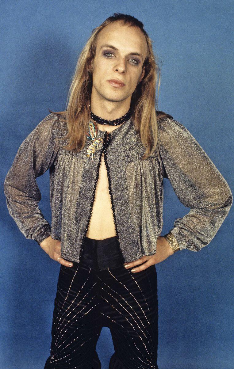 'Als het om interessante popmuziek gaat, is ergens altijd wel weer Brian Eno in de buurt. Denk aan het stempel dat hij drukte op de vroege Roxy Music.' Beeld null
