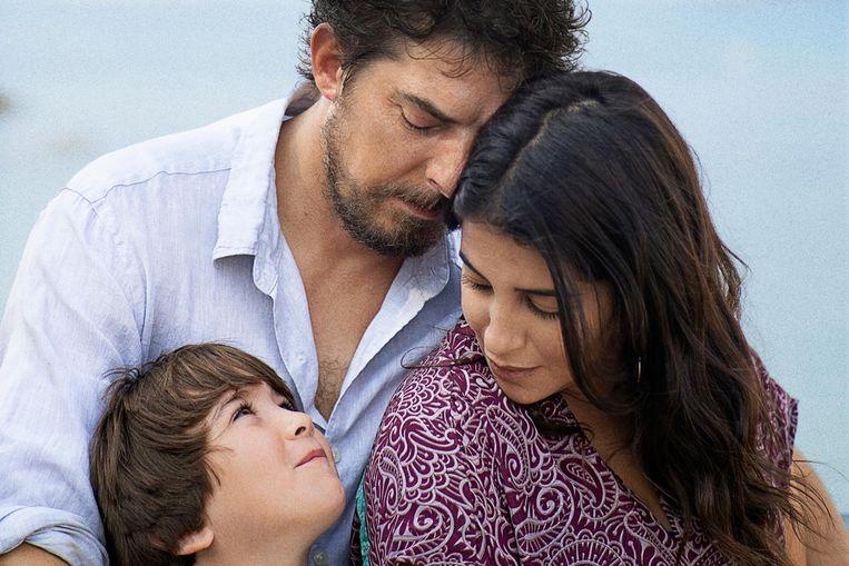De Belgische film 'Les intranquilles', over het turbulente gezinsleven van een bipolaire schilder, lijkt zeker niet kansloos.  Beeld DR
