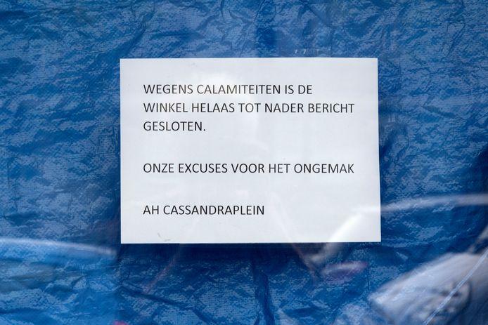 Eindhoven ED2021-12735 Muizenplaag Albert Heijn Cassandraplein