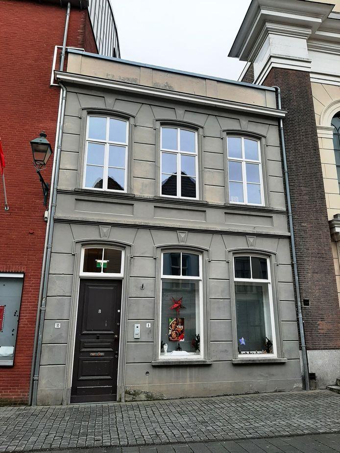 Het huis in de Sint Janstraat in Breda waar na de Tweede Wereldoorlog NSB-kinderen werden ondergebracht in een tehuis.