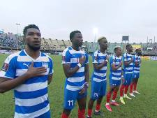 NAC-spits Kosiah mag zich na bijzondere seizoensstart nu ook international van Liberia noemen