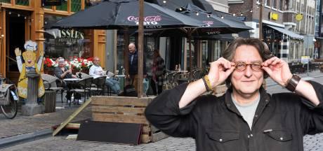 Voor een terrasrijker Dordrecht kan de Groenmarkt best permanent wat smaller blijven