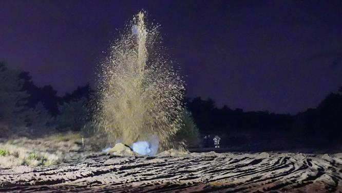 Mogelijk explosieve stof gevonden in opslagbox Budel tot ontploffing gebracht