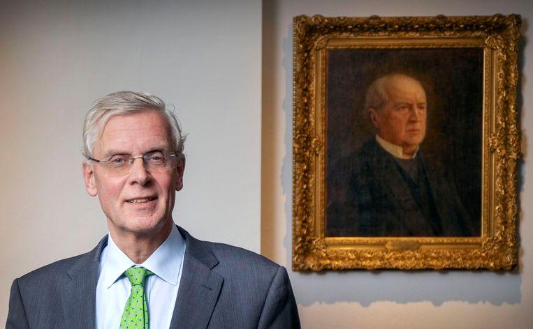 Interim-partijvoorzitter Marnix van Rij. Beeld Werry Crone