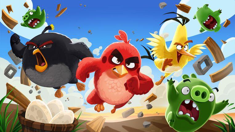 Angry Birds. Beeld