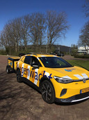 Redder in nood: de nieuwe accu-booster op wielen achter de elektrische Volkswagen ID.4