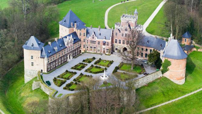 Binnentuin Kasteel van Gaasbeek krijgt grondige snoeibeurt: heropening samen met kasteel gepland voor 2023