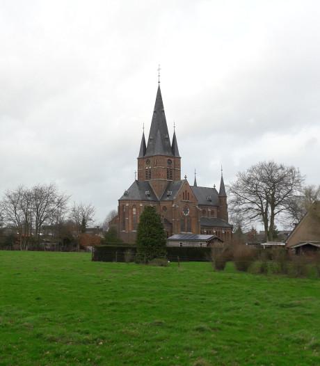 Buren in het geweer tegen Bergharens bouwplan Kerkenweide
