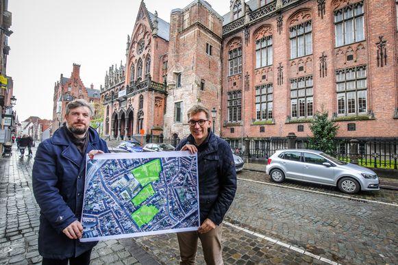 Brugge voorstelling plannen Ezelstraatkwartier