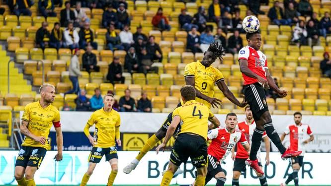 Feyenoord ondanks nederlaag in Zweden naar groepsfase Conference League