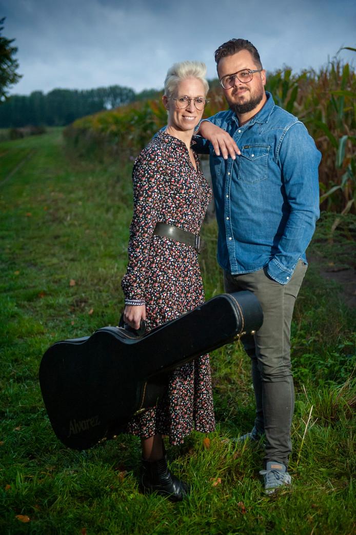 Liempde. Judith en Arjan Terlouw organiseren country- en americana concerten in Liempde