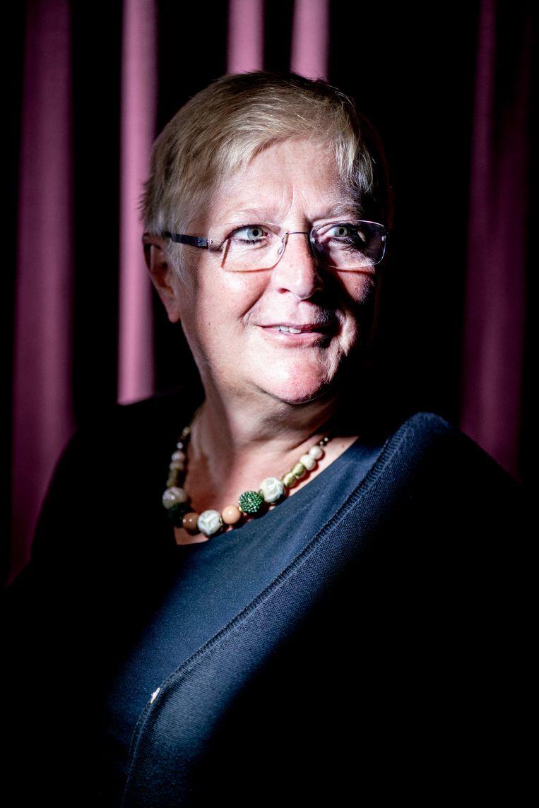 Mieke Vogels. Beeld Stefaan Temmerman