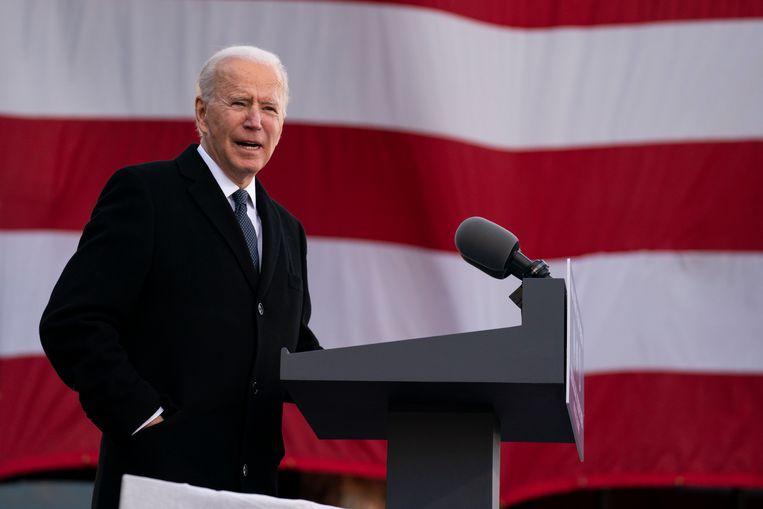 Joe Biden, de 46ste president van de Verenigde Staten. Beeld AP