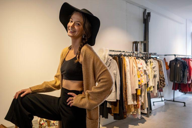 Monique Drent van The Swapshop. Beeld Patrick Post