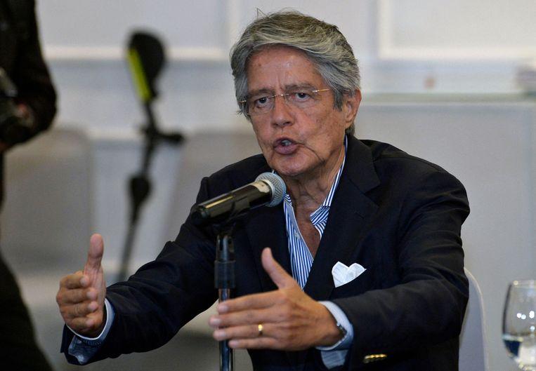 Guillermo Lasso. Beeld AFP
